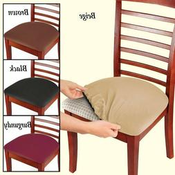 Stretchable Seat Covers Cover Protector Stool Chair Set Of 2
