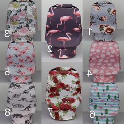 Stretchy Car Seat Canopy Multi Use Cover Baby infant Carryin