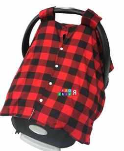 Stretchy Car Seat Canopy Multi Use Cover Baby Beanie Carryin