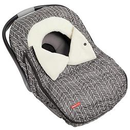 Skip Hop Stroll & Go Carseat Cover, Grey Feather