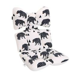 Cotton Stroller Cushion Seat Cover Nappy Pad Mat Mat Pad Cus