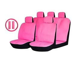 LavoHome Stylish Retro Solid Pink Premium Quality 14pc Luxur