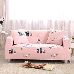 AbbeyTening Succulent plants pink Sofa Slipcover Sofa Covers