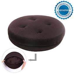 baibu Super Breathable Round Bar Stool Cover Seat Cushion Na