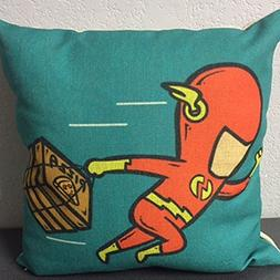 Super Hero Pillow Cover w/ Cushion by ZWOLLIP