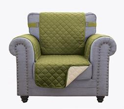 """Superior Quality Reversible Chair Cover 63"""" X 73""""-Furniture"""