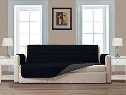"""Superior Quality Reversible Couch Cover 110"""" X 76""""-Furniture"""