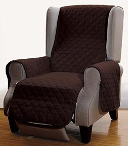 """Grand Linen Superior Quality Reversible Recliner Cover 65"""" X"""