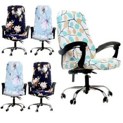 Swivel Chair Seat Cover Computer Armchair Protector Slipcove