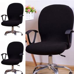 swivel computer chair cover stretch spandex office