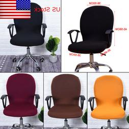 Swivel Seat Computer Chair Cover Stretch Office Spandex Prot