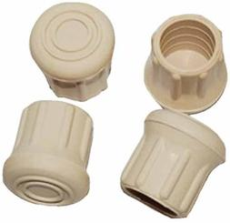 """Taylor Made Rubber Chair Tips, Fits 1"""" Tubing 96025"""