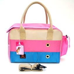 Three Colors Pet Carriers Bag Dog Travel Totes Doggie Handba