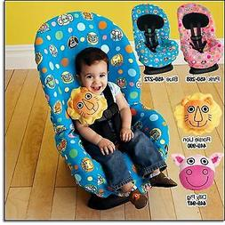 Toddler Baby Blue Cover Kids Cartoon Car Seat Cute Protector