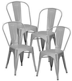 Poly and Bark Trattoria Side Chair in Grey