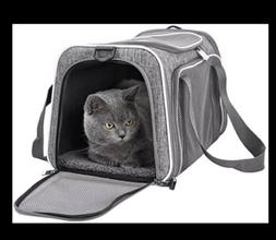 Petisfam Top Load Cat Carrier for Medium Cats, Collapsible a