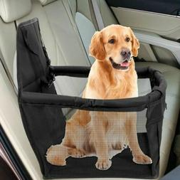 Travel Dog Car Seat Cover Safety Dog Basket Pet Puppy Carrie
