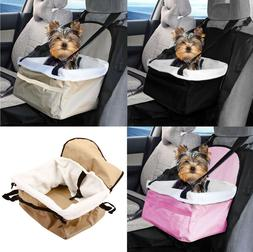 Travel Folding Dog Cat Pet Puppy Car Carrier Booster Seat Sa