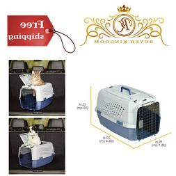 Two Door Top Load Pet Kennel Carrier Crate For Cats Dogs Sec