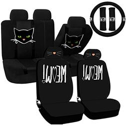 UAA 22pc Cat Lover Cute Friendly Pet Girly Universal Seat Co