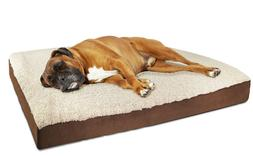 OxGord X-Large Ultra Plush Delux Ortho Pet Bed