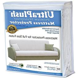 UltraPlush Premium Futon Full Size Waterproof Mattress Prote