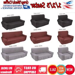 1 2 3 4 Seat Sofa Cover Slipcover Stretch Fit Elastic Couch