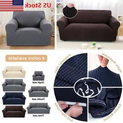 US 1/2/3/Seater Sofa Cover Slipcover Elastic Set Couch Stret