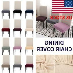 US Dining Room Chair Covers Stretch Slipcovers Wedding Banqu