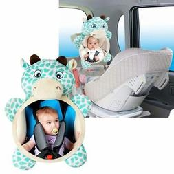 US Newborn Baby Kids Mirror Back Car Seat Cover for Child Re