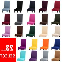 New Stretch Dining Chair Cover Slipcovers Universal Removabl