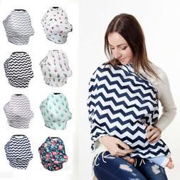 USA Safety Stretchy Newborn Infant Nursing Cover Baby Car Se