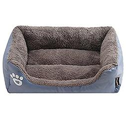 Washable Premium Dog and Cat Bed/Lounge With Ultra Soft Plus