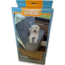Kurgo Waterproof Car Bench Seat Cover for Dogs, Heather Nutm