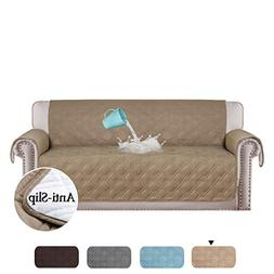 H.VERSAILTEX 100% Waterproof Couch Covers for Sofa Plush Cou