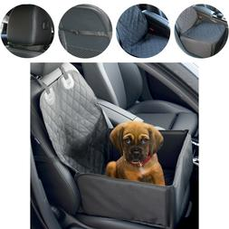 Waterproof Dog Cat Booster Car Seat Cover / 2 in 1 / Pet Tra