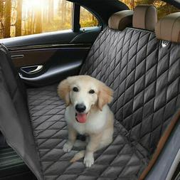 Waterproof Pet Car Seat Cover Hammock Nonslip Rubber Backing